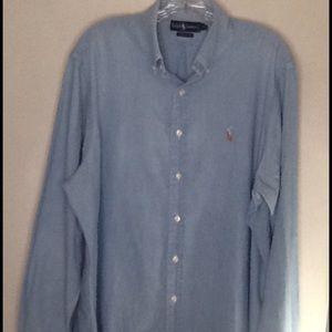 Ralph Lauren Polo | Cotton| Chambray Shirt